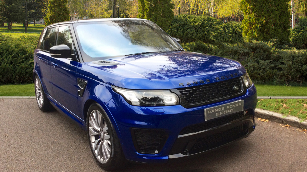 Land Rover Range Rover Sport 5.0 5Dr V8 S/C SVR Automatic 550HP - Privacy Glass - Black Pack - Panoramic Roof 5 door Estate (2017) image