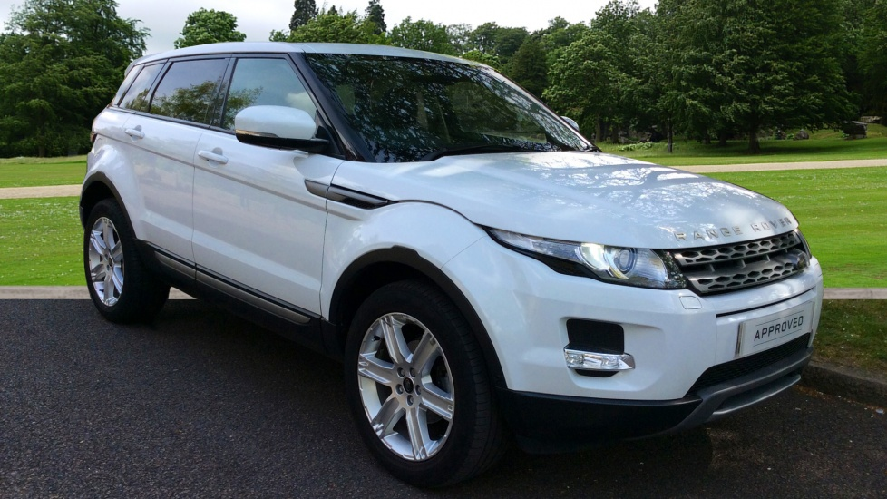 Land Rover Range Rover Evoque 2.2 SD4 Pure 5dr [Tech Pack] Diesel Automatic 4 door Hatchback (2013) image