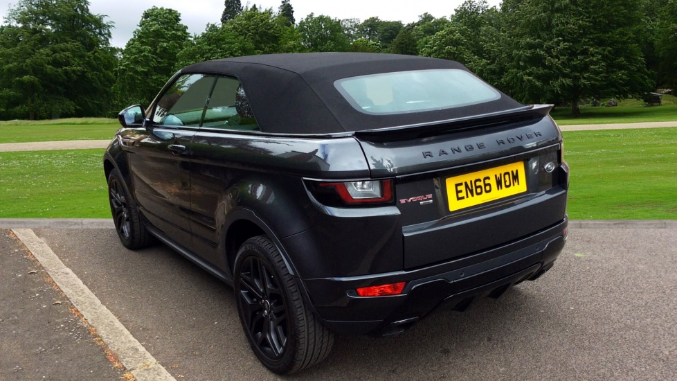 land rover range rover evoque 2 0 td4 hse dynamic lux 2dr diesel automatic convertible 2017. Black Bedroom Furniture Sets. Home Design Ideas