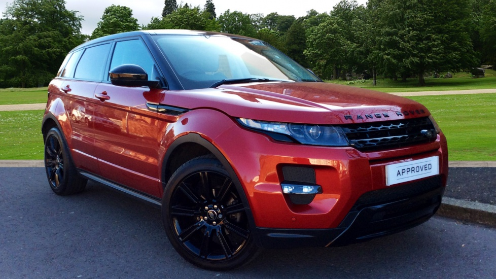 Land Rover Range Rover Evoque 2.2 SD4 Dynamic 5dr [9] Diesel Automatic 4 door Hatchback (2014) image