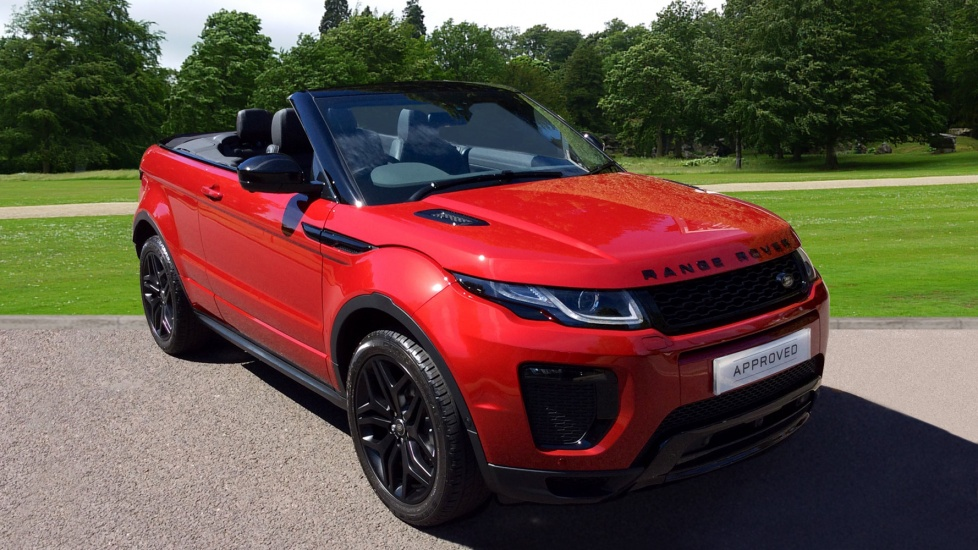 Land Rover Range Rover Evoque 2.0 TD4 HSE Dynamic Lux 2dr - Convertible - LUX PACK.  Diesel Automatic (2017) image