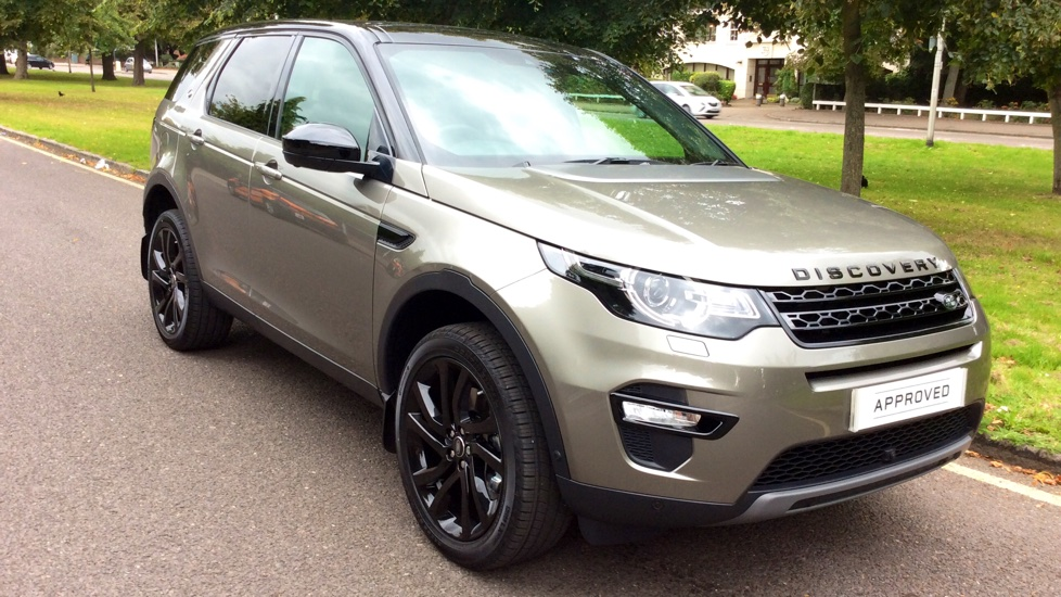 Land Rover Discovery Sport 2 0 Sd4 240 Hse Black 5dr 7