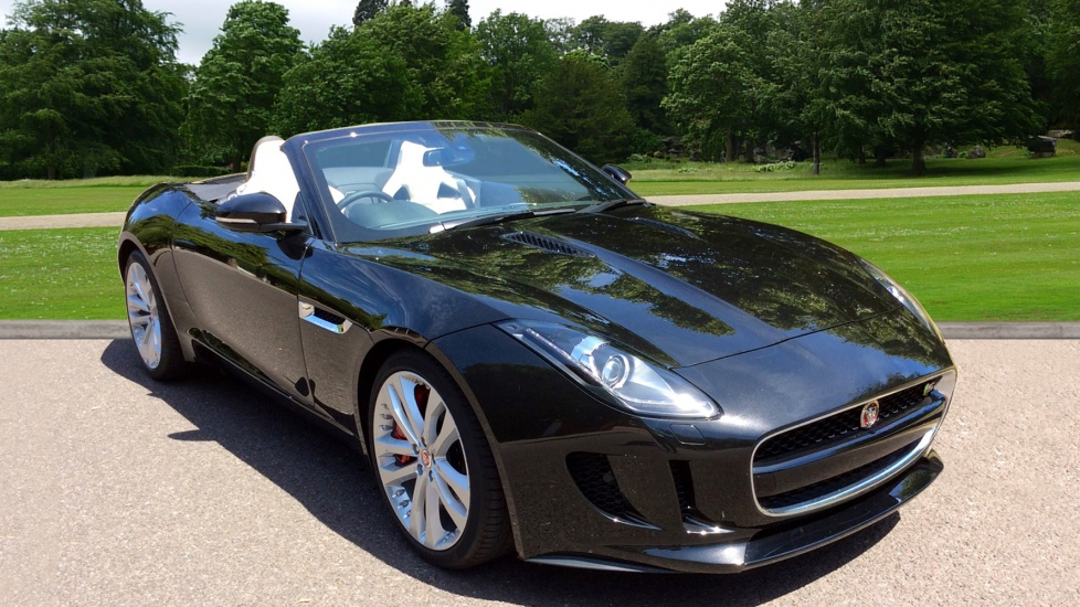 Jaguar F-TYPE 3.0 380PS S/C V6 S 2dr - Special Offer -  Automatic Convertible (2017)