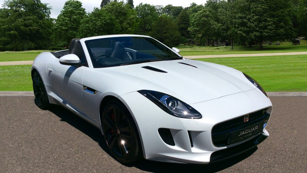 Jaguar F-TYPE 3.0 380PS S/C V6 S 2dr - Special Offer - Metallic Paint -  Automatic Convertible (2017)