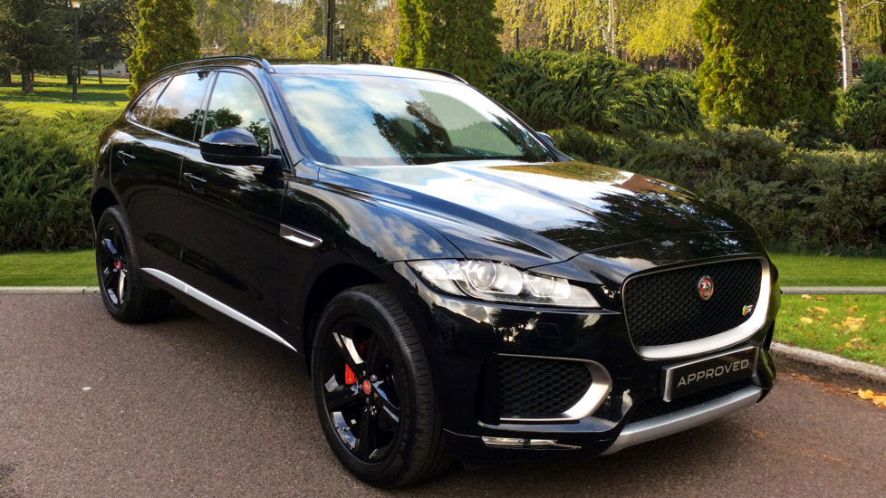 used jaguar f pace black cars for sale grange. Black Bedroom Furniture Sets. Home Design Ideas