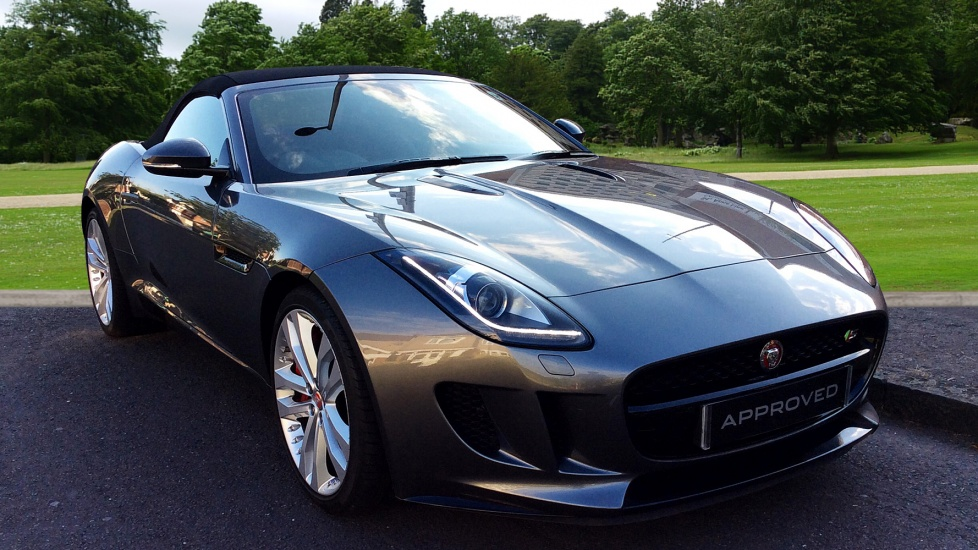 Jaguar F-TYPE 3.0 Supercharged V6 S 2dr Automatic Convertible (2016)