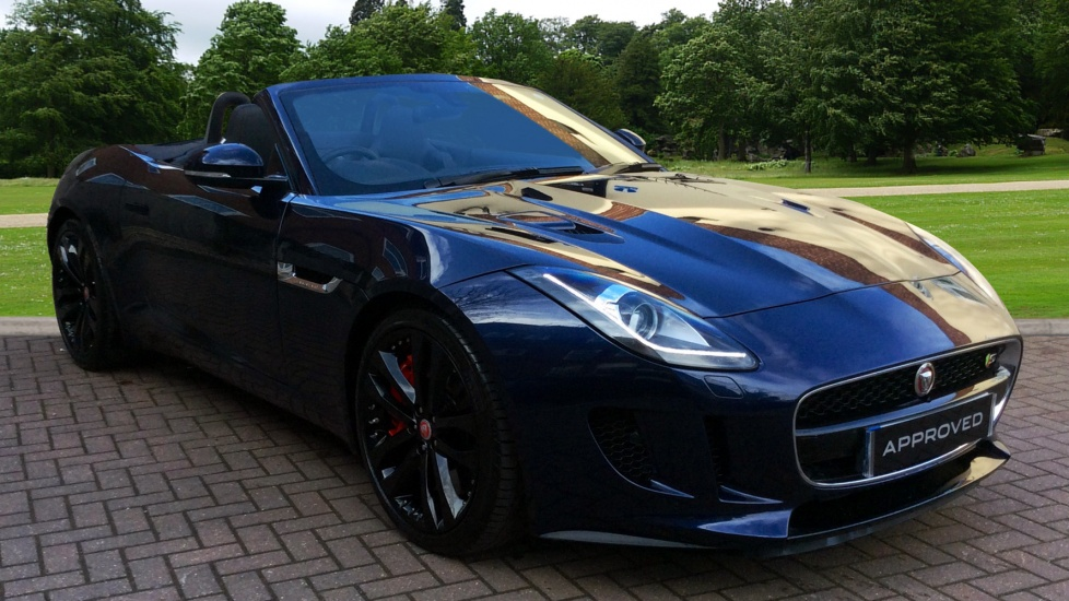 Jaguar F-TYPE 3.0 Supercharged V6 S 2dr AWD Automatic Convertible (2016) image