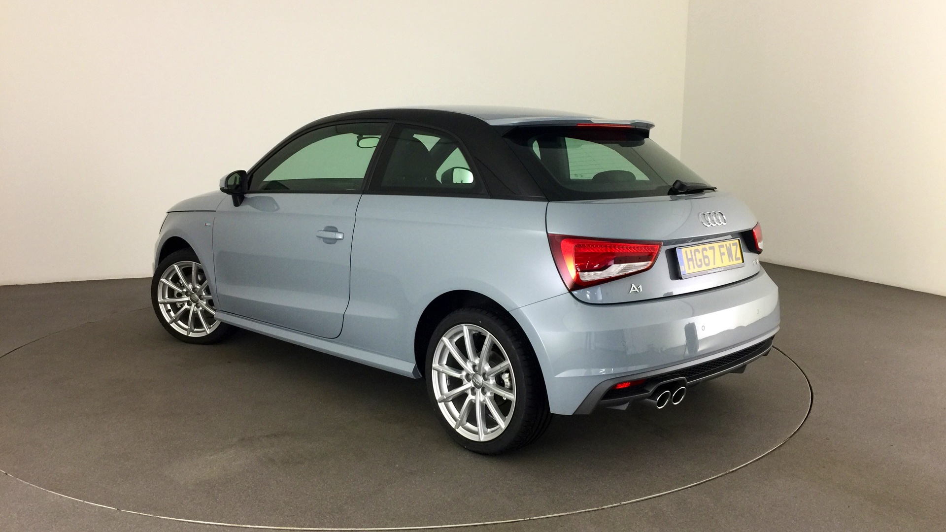 approved used audi a1 s line 1 4 tfsi 125 ps s tronic hg67fwz 18 500. Black Bedroom Furniture Sets. Home Design Ideas