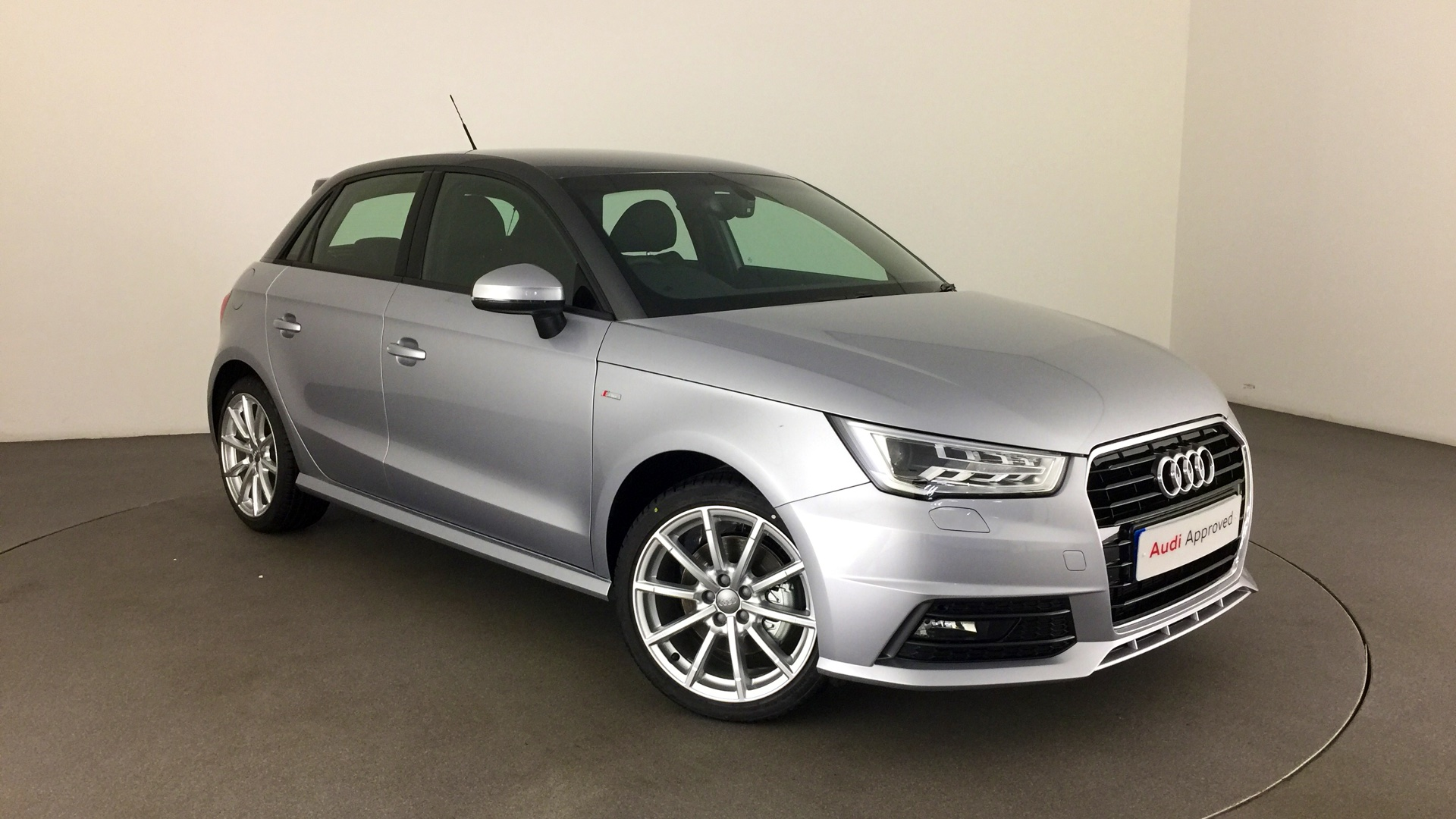 approved used audi a1 sportback s line 1 6 tdi 116 ps 5. Black Bedroom Furniture Sets. Home Design Ideas