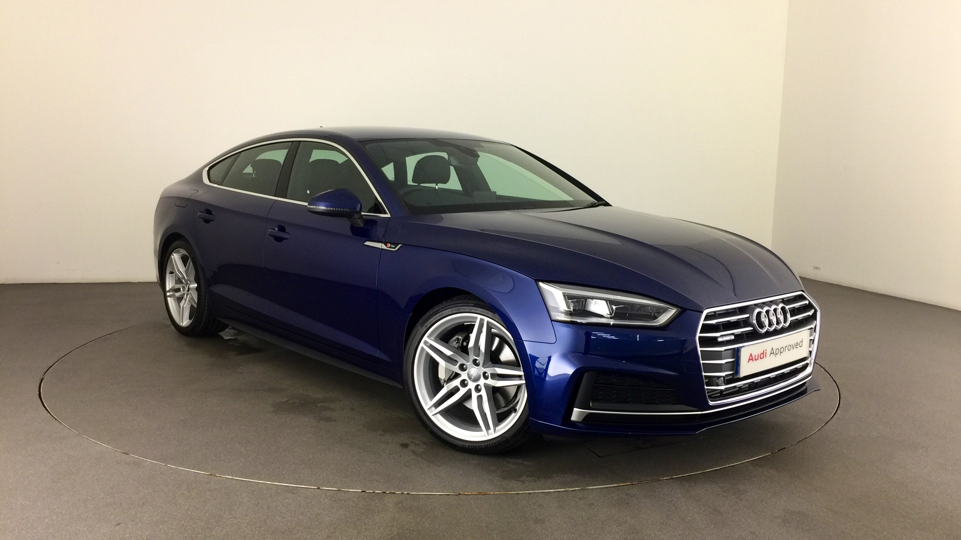 approved used audi a5 sportback s line 2 0 tfsi quattro 252 ps s tronic hg67lfm 36 000. Black Bedroom Furniture Sets. Home Design Ideas