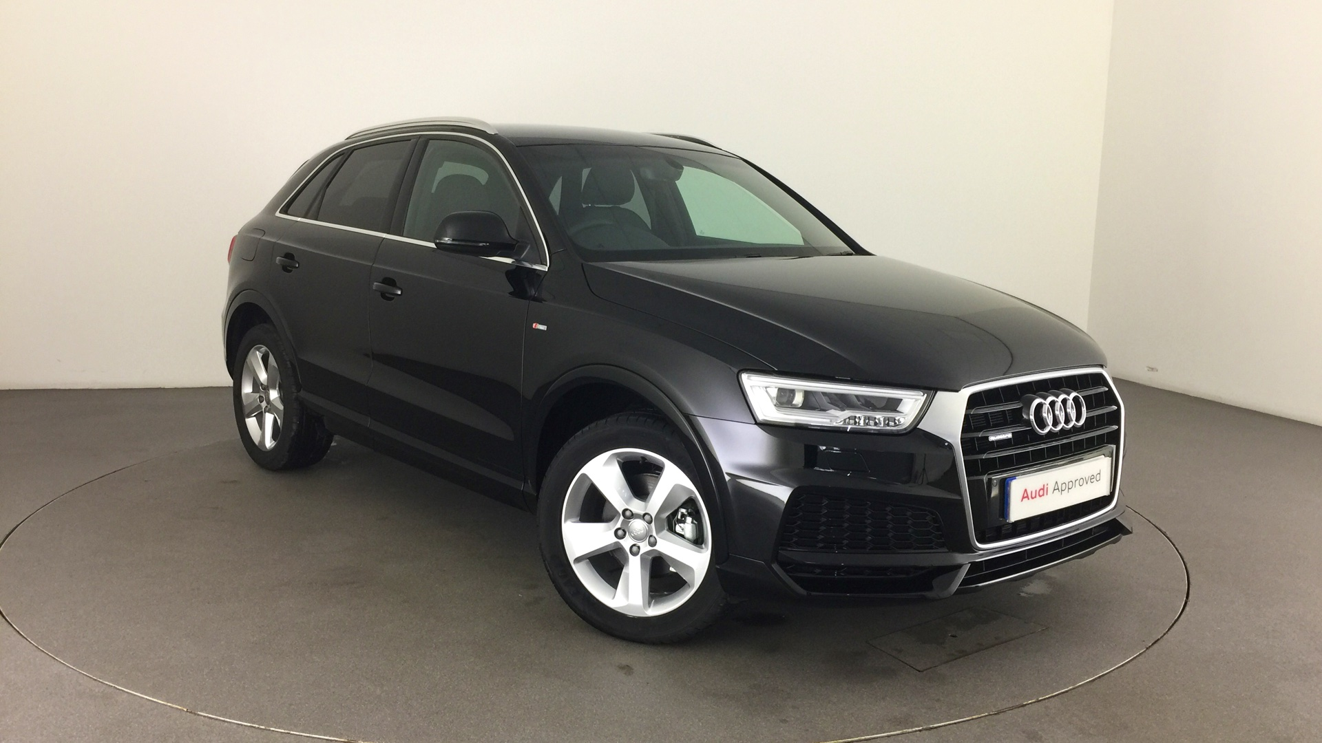 approved used audi q3 s line edition 2 0 tdi quattro 150 ps s tronic hg67ojc 30 000. Black Bedroom Furniture Sets. Home Design Ideas