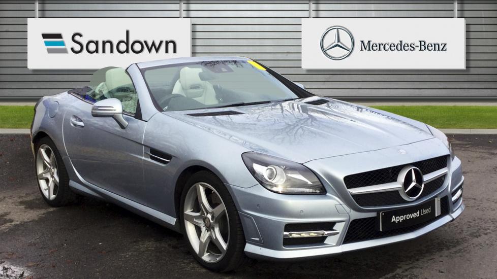 Mercedes benz slk slk 300 amg sport 2dr tip auto 1 991 cc for Mercedes benz slk 300