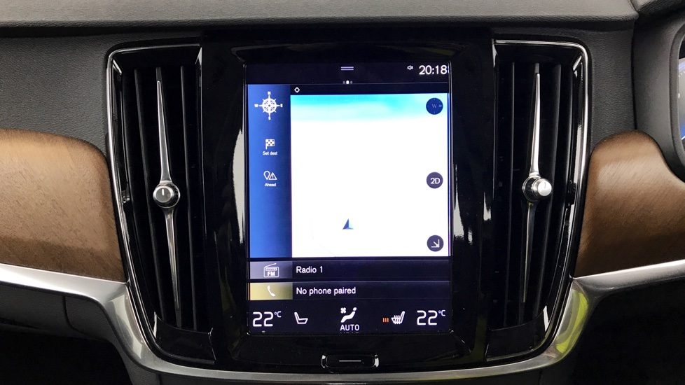 Volvo S90 D5 AWD Inscription (Xenium, Winter Plus, Head up Disp, Bowers Wilkins, BLIS)