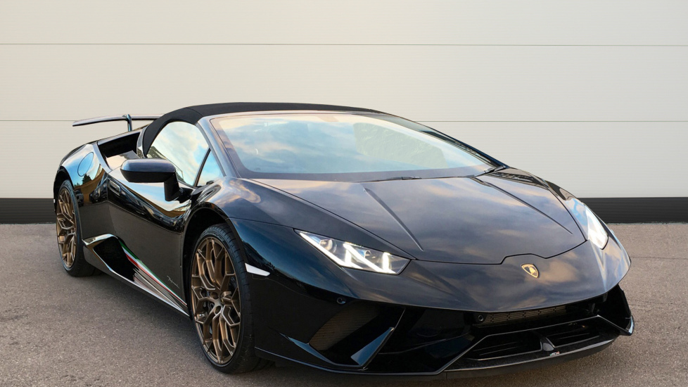 Lamborghini Huracan Performante Spyder LP 640-4 LDF 5.2 Automatic 2 door Convertible (2018) at Lamborghini Tunbridge Wells thumbnail image