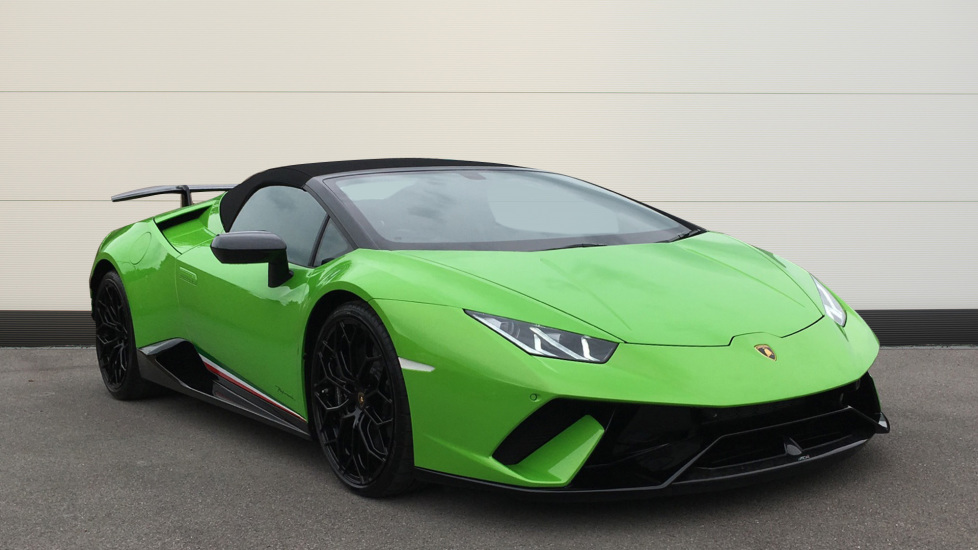 Lamborghini Huracan Performante Spyder LP 640-4 2dr 5.2 Semi-Automatic Convertible (2019)