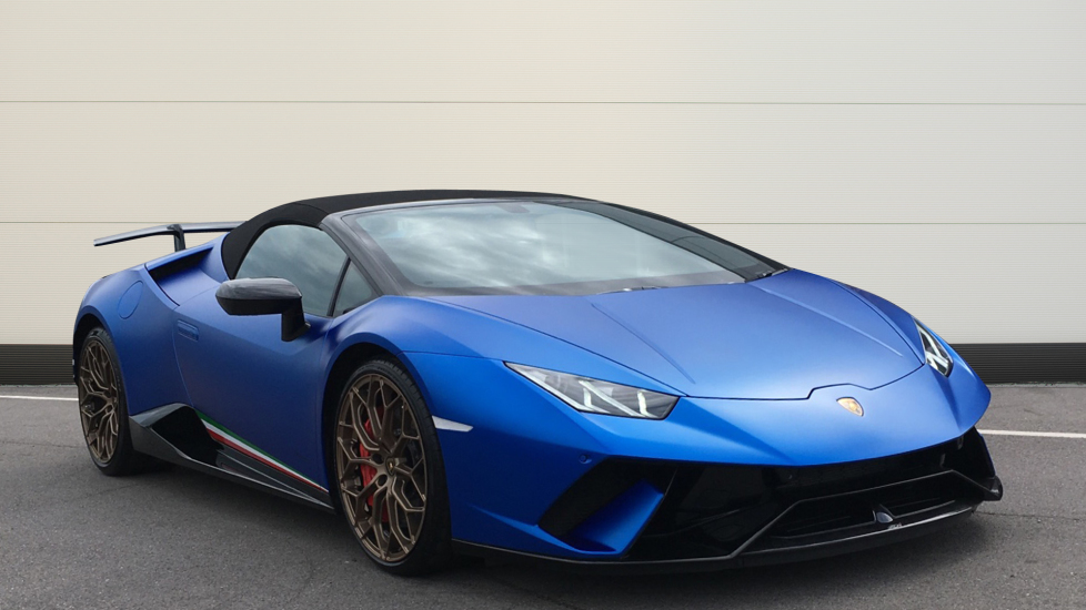 Lamborghini Huracan Performante LP 640-4 LDF 5.2 Automatic 2 door Convertible (2018)