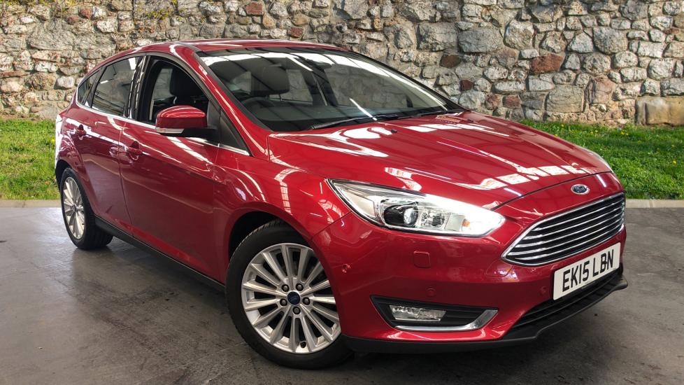 Ford Focus 1.0 EcoBoost Titanium X 5dr Hatchback (2015) image