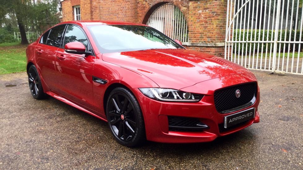 used jaguar xe red cars for sale motorparks. Black Bedroom Furniture Sets. Home Design Ideas