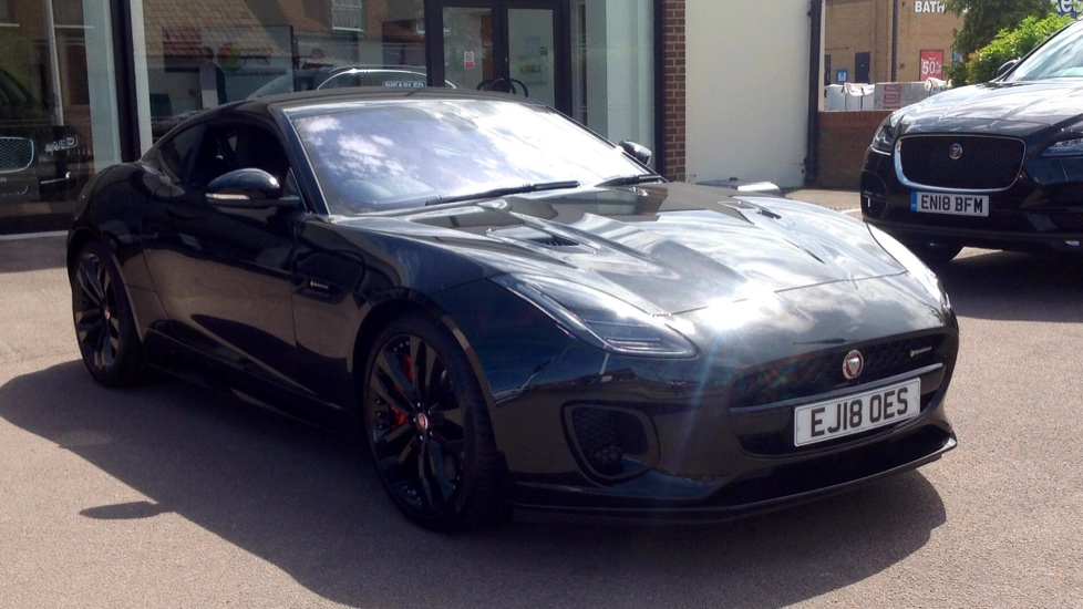 Jaguar F-TYPE 3.0 [380] Supercharged V6 R-Dynamic 2dr AWD Automatic 3 door Coupe (2019) image