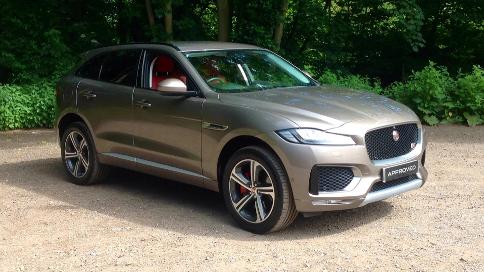 Jaguar F-PACE 3.0 Supercharged V6 S 5dr AWD Automatic 4 door Estate (2017) image