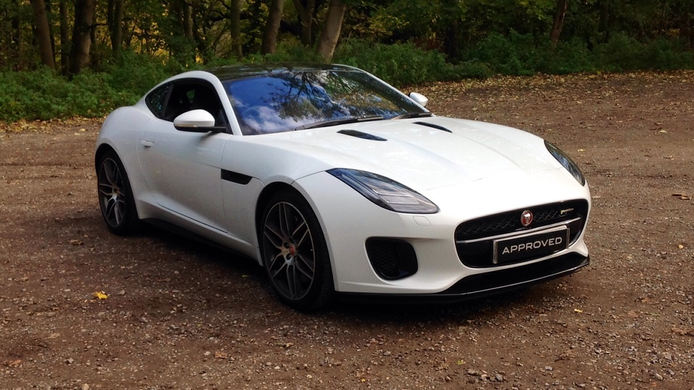 Jaguar F-TYPE 3.0 [380] Supercharged V6 R-Dynamic 2dr Automatic Coupe (2018)