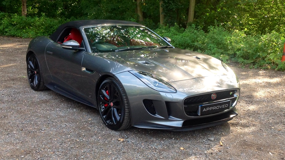 Jaguar F Type 5 0 Supercharged V8 R 2dr Auto Awd Automatic Convertible 2017