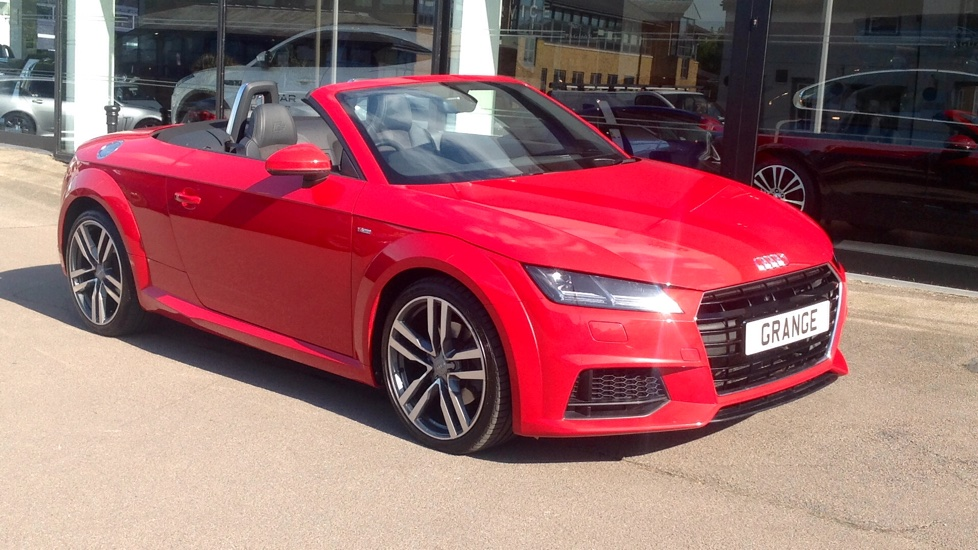 Audi TT 2.0 TDI Ultra S Line 2dr with Tech Pack Diesel Roadster (2016)
