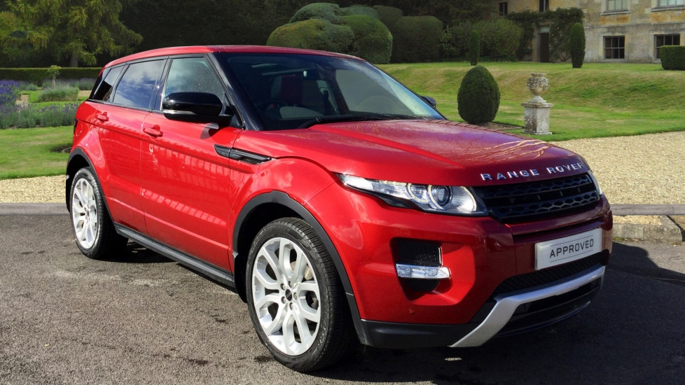 Land Rover Range Rover Evoque 2.2 SD4 Dynamic 5dr Diesel Automatic 4x4 (2012) image