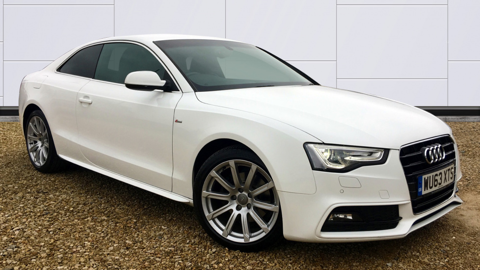 Audi A5 2.0 TDI 177 S Line 2dr Multitronic Diesel Automatic 3 door Coupe (2013) image
