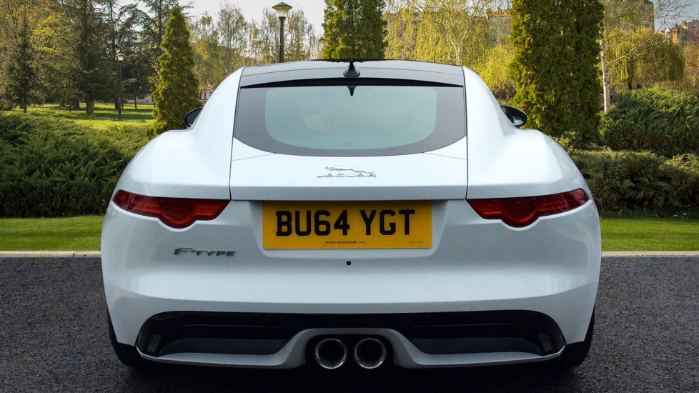 JAGUAR F TYPE V6 COUPE, PETROL, In WHITE, 2014   Image 5