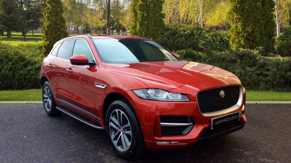 Jaguar F-PACE 2.0 R-Sport 5dr AWD Automatic Estate (2017)