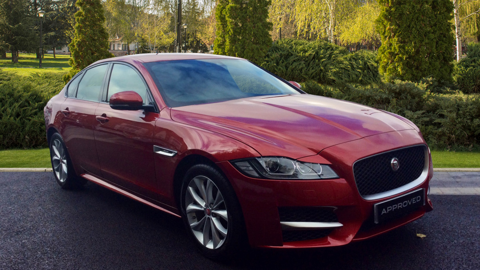 Jaguar Dealers In Md >> Used - Jaguar XF - Red - Jaguar Barnet Cars for Sale | Grange