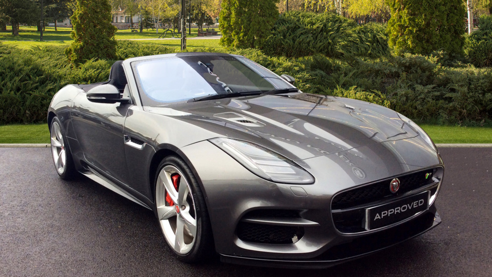 Jaguar F-TYPE 5.0 Supercharged V8 R 2dr AWD Automatic Convertible (2017) image