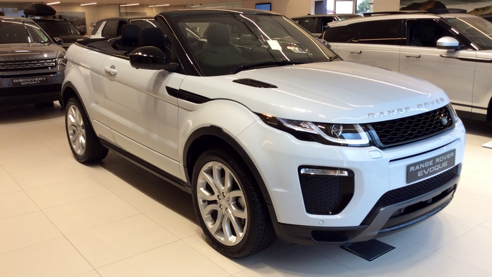 Land Rover Range Rover Evoque Convertible 2.0 TD4 HSE Dynamic 2dr Auto Diesel Automatic 3 door Convertible (2017) image