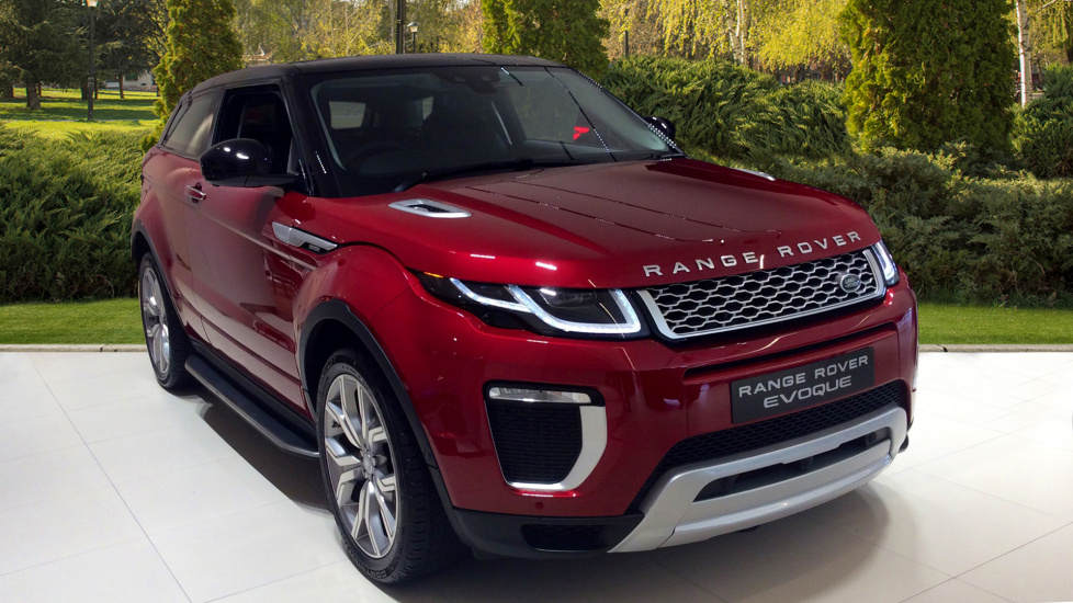 used land rover range rover evoque red cars for sale motorparks. Black Bedroom Furniture Sets. Home Design Ideas