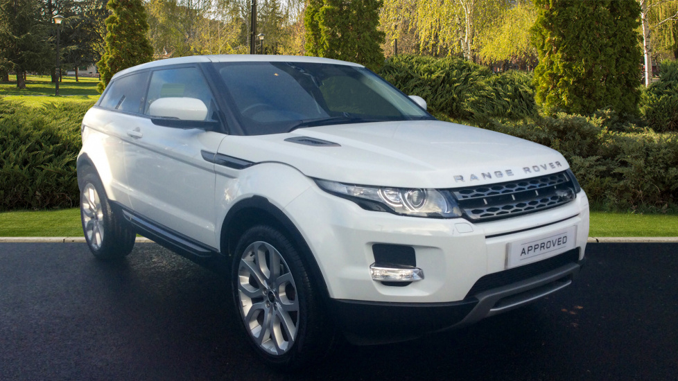 Land Rover Range Rover Evoque 2.2 SD4 Pure 3dr [Tech Pack] Diesel Automatic 2 door 4x4 (2012) image
