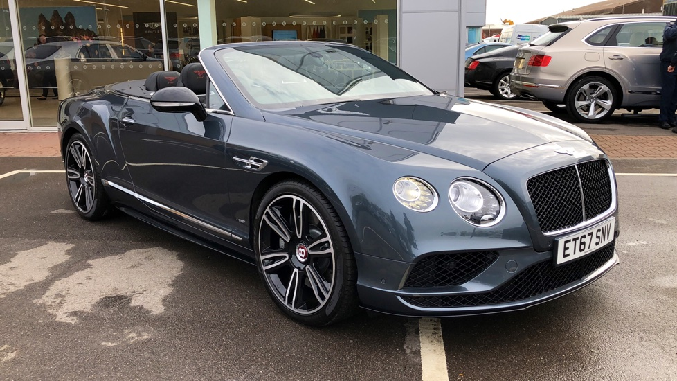 Bentley Continental GT V8 S Convertible 4.0 V8 2dr Auto Automatic Convertible (2018)