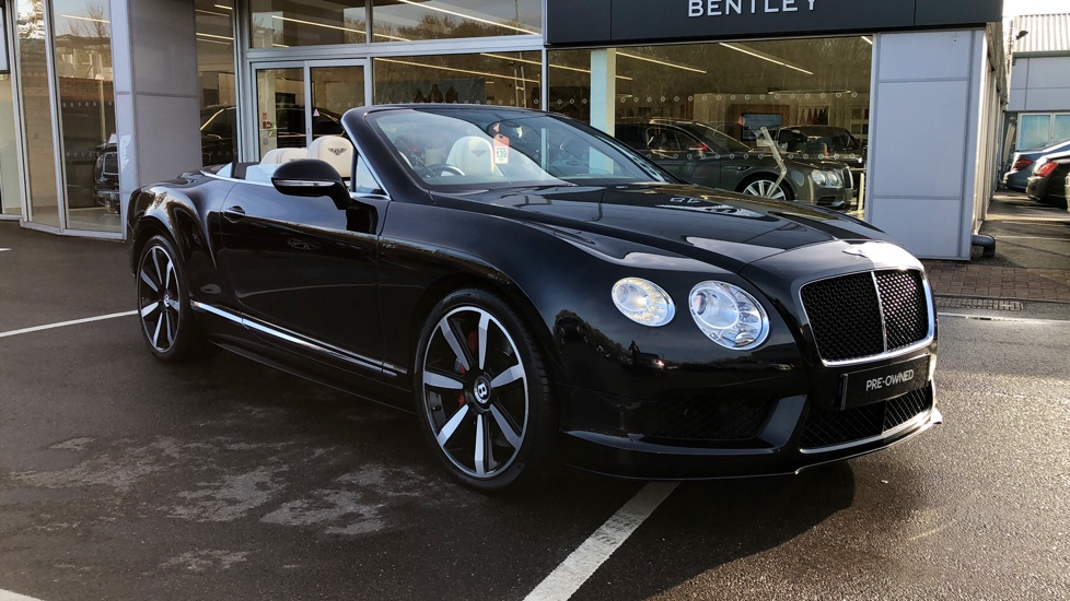 Bentley Continental GT V8 S Convertible 4.0 V8 S 2dr Auto Automatic Convertible (2014) image