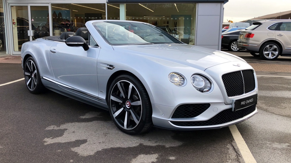 Bentley Continental GT V8 S Convertible 4.0 V8 S 2dr Auto Automatic Convertible (2016) image