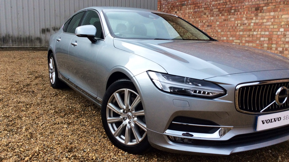 Volvo S90 D4 (190 bhp) Inscription 8 Speed Automatic, Adaptive Cruise Control Winter Pack, Full Nappa Leather, 12.3 Inch Driver Display, LED Headlamps