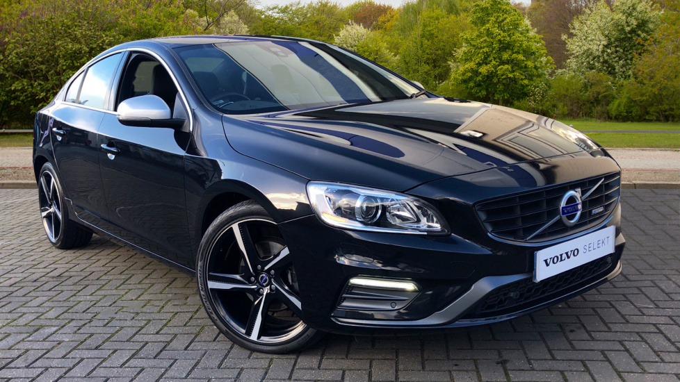 Volvo S60 D4 181 BHP R-Design Nav Auto with Gear Shift Paddles & Rear Parking Camera 2.0 Diesel Automatic 4 door Saloon (2015) image