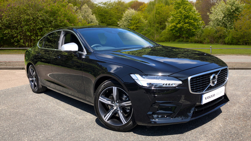 Volvo S90 D4 190hp Euro 6 R-Design Auto with 360 Parking Camera, Privacy Glass & Volvo On Call 2.0 Diesel Automatic 5 door Saloon (2018) image