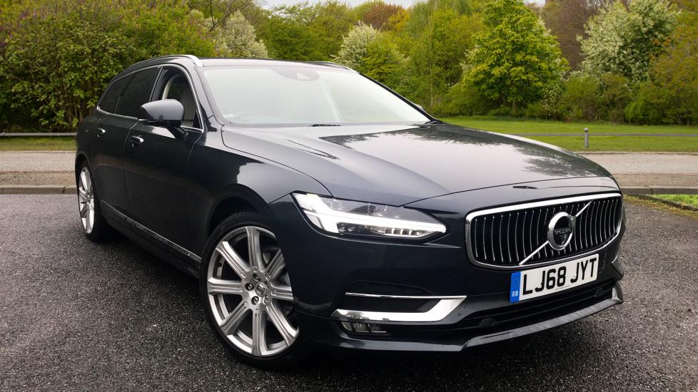 Volvo V90 2.0 D4 Inscription Pro Nav Estate Auto with Dark Tinted Windows, 360 Surround Camera & BLIS Diesel Automatic 5 door (2018) image
