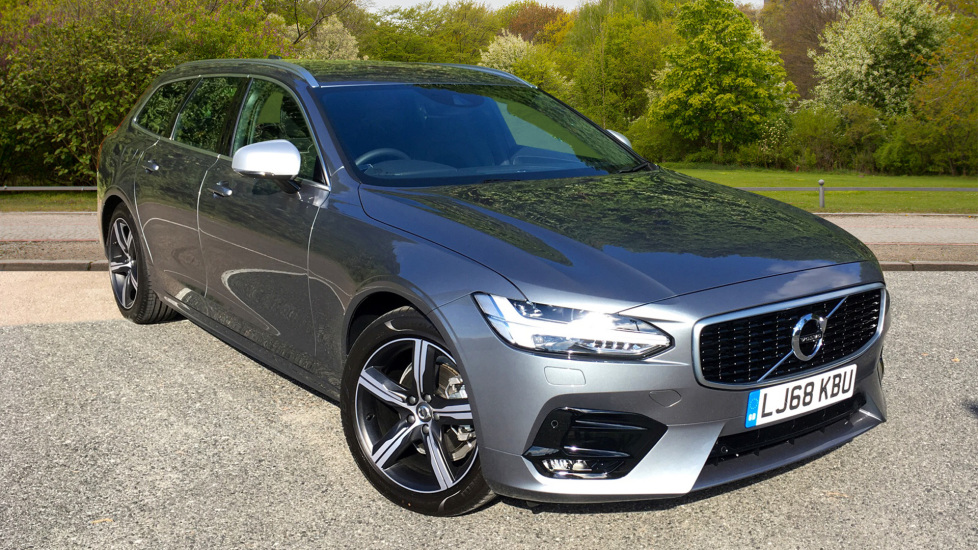 Volvo V90 2.0 D4 190hp Euro 6 R Design Nav Auto with Winter Pack, Sensus Navigation & Front & Rear Park Assist Diesel Automatic 5 door Estate (2018) image