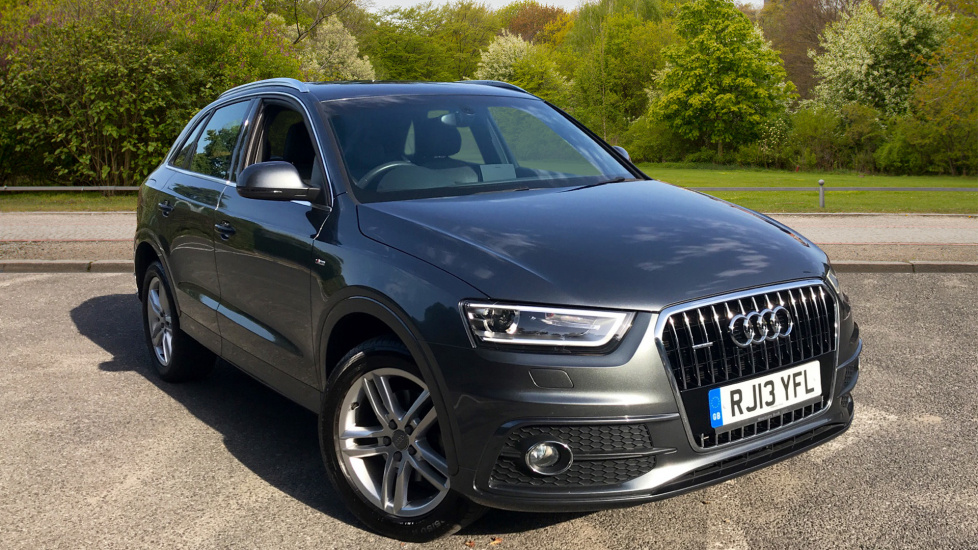 Audi Q3 2.0 TDI Quattro S Line With USB, AUX and Tinted glass  Diesel Automatic 5 door Estate (2013) image
