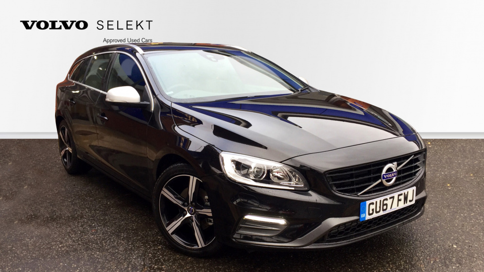 Volvo V60 D4 [190] R DESIGN Lux Nav 5dr Geartronic Sunroof, Rear Park Camera, Power Seat With Memory 2.0 Diesel Automatic Estate (2017) image