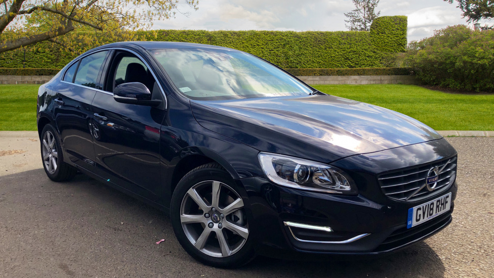 Volvo S60 D3 SE Lux Nav Auto With Rear Park Assist & Satellite Navigation 2.0 Diesel Automatic 5 door Saloon (2018) image