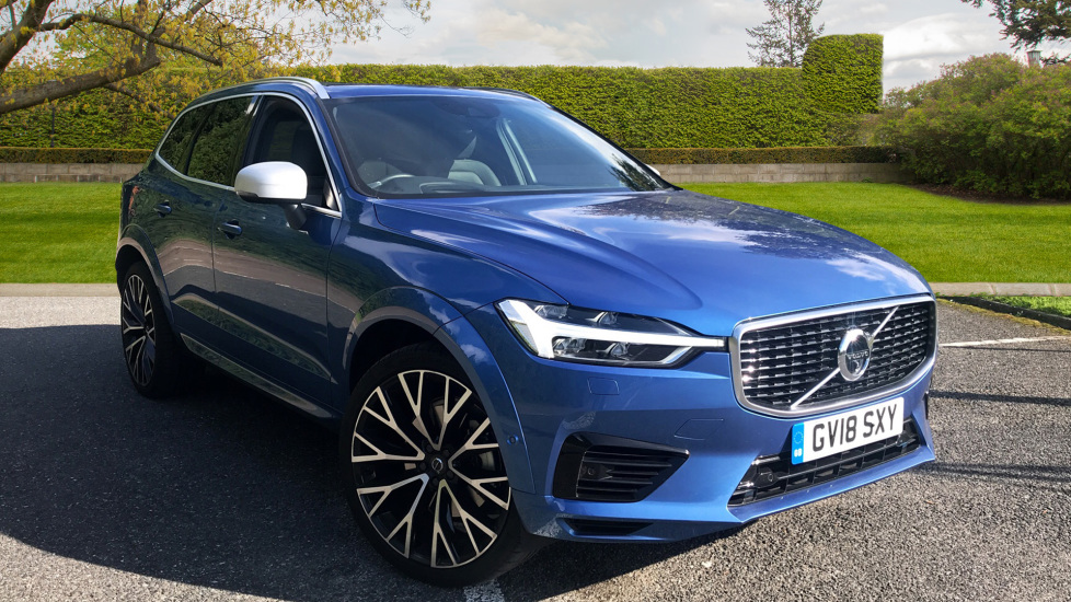 Volvo XC60 2.0 T8 Hybrid R Design Pro AWD  With Apple Car Play and 22 Inch Diamond Cut Matt Black Alloys  Petrol/Electric Automatic 5 door Estate (2018) image