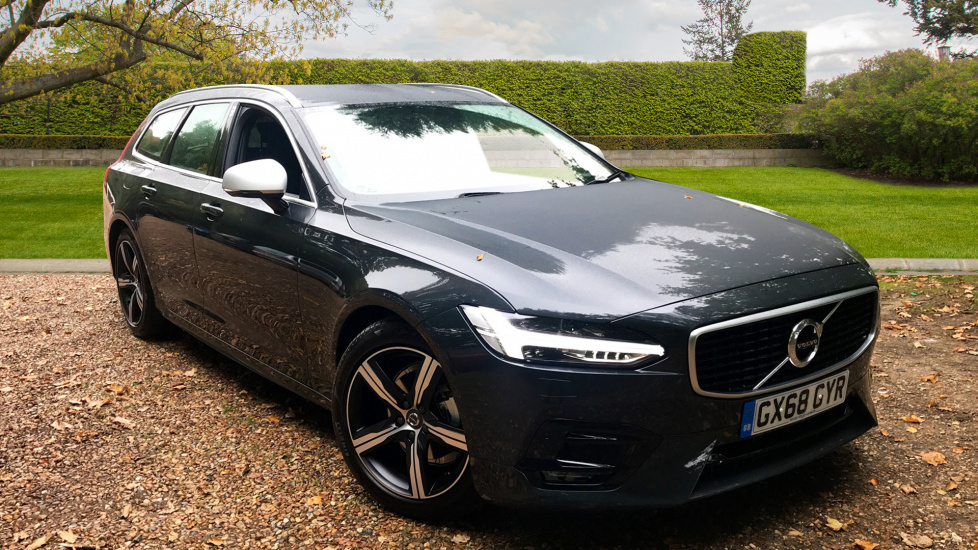 Volvo V90 2.0 D4 R Design AWD Auto W. Smartphone Integration, Winter Pack Diesel Automatic 5 door Estate (2018) image