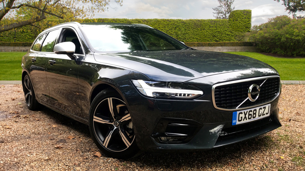 Volvo V90 2.0 D4 R Design Auto, Winter Pack, Front and Rear Park Assist, Sensus Navigation Diesel Automatic 5 door Estate (2018) image